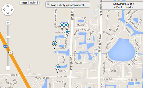 San Michele Palm Beach Gardens Map Search for Homes