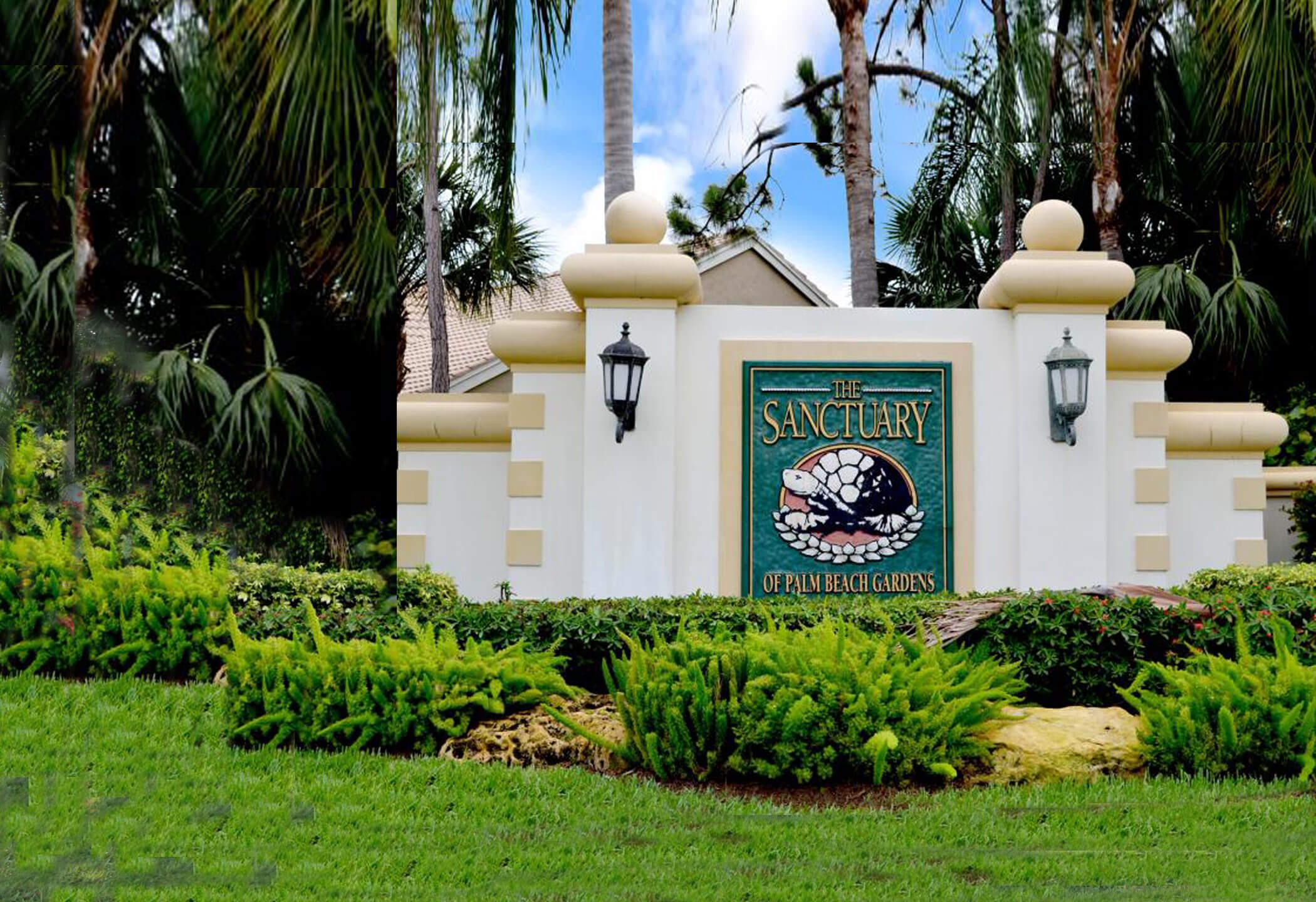 Sanctuary Palm Beach Gardens Homes for sale