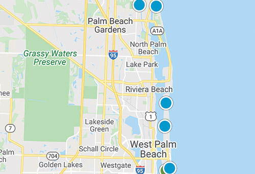 palm beach coastal mls map