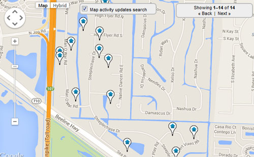 Steeplechase Palm Beach Map Search for Homes