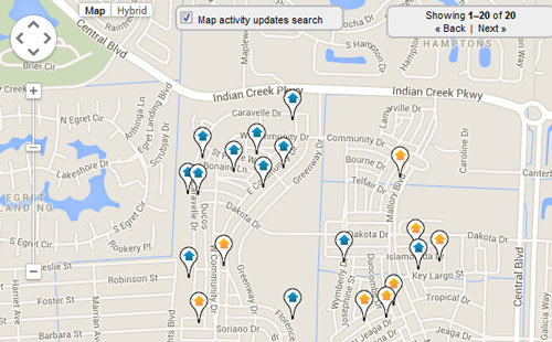 Windsor Park Abacoa Map Search for Homes