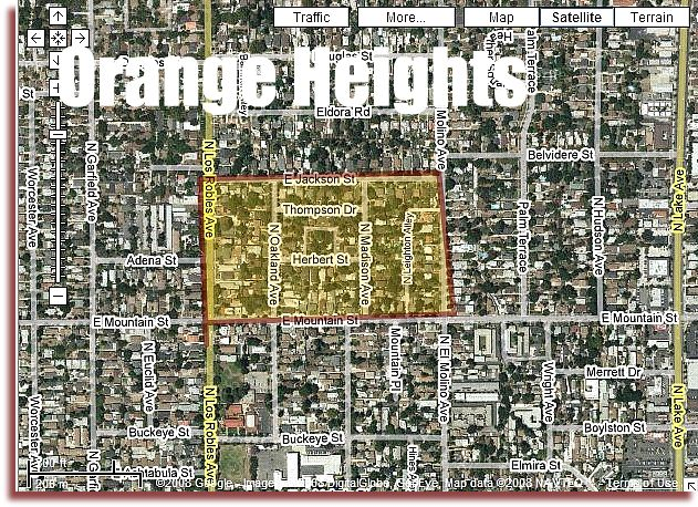 Orange Heights Pasadena
