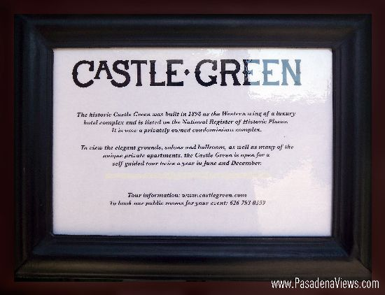 Castle Green Information