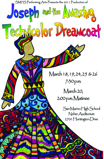 San Marino High School Drama Joseph and Amazing Technicolor Dreamcoat