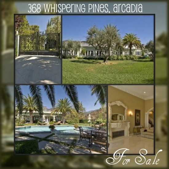 368 Whispering Pines, Arcadia California