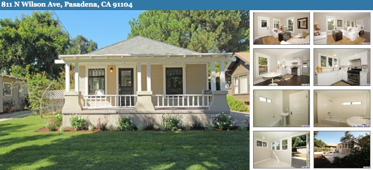 811 North Wilson Ave Pasadena - Bungalow Heaven