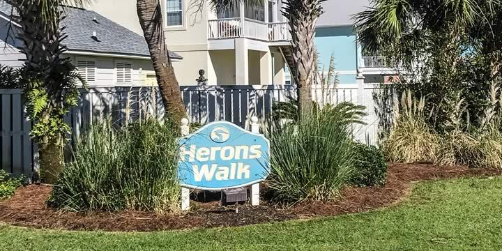 Heron's Walk in Perdido Key FL