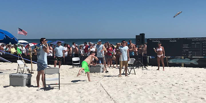 The Mullet Toss Contest