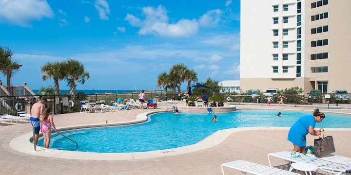 Palacio Condos Pool in Perdido Key