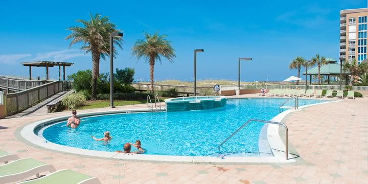 Pool at Spanish Key in Perdido Key FL