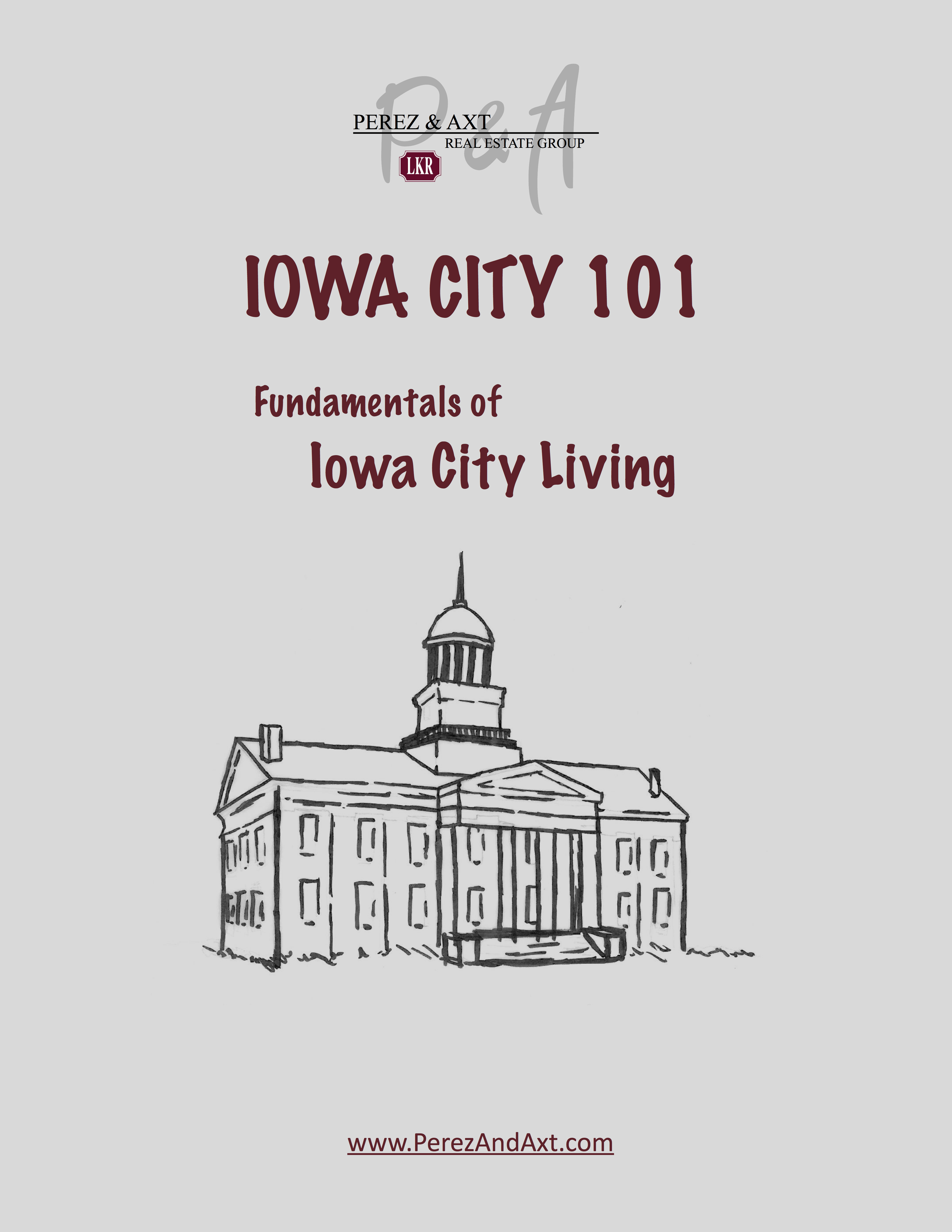 Iowa City 101 - a guide to living & selling my house in Iowa City,IA