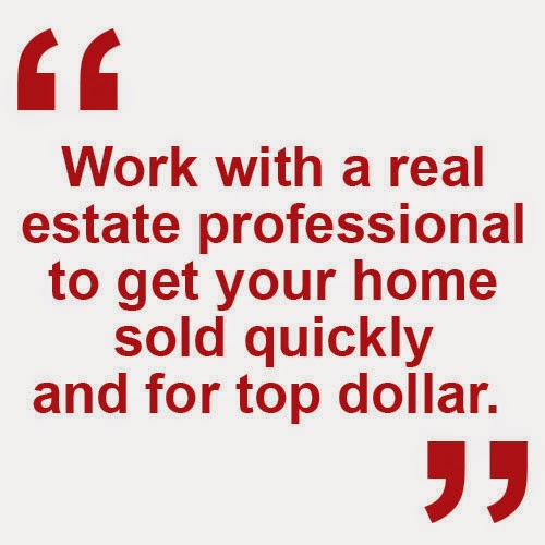 Work with a real estate agent to get your home sold for top dollar