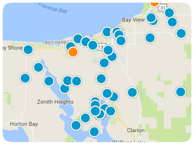 Petoskey Real Estate Map Search