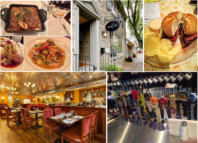 CHESTNUT HILL BARS & RESTAURANTS