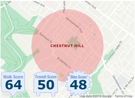 CHESTNUT HILL NEIGHBORHOOD BOUNDARIES
