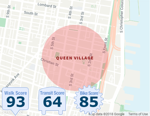 QUEEN VILLAGE NEIGHBORHOOD BOUNDARIES