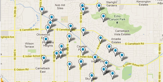 Arcadia Area Homes for Sale