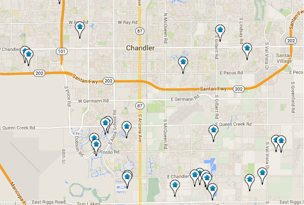 Chandler Home Search