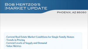 Desert Ridge Homes Monthly Real Estate Report