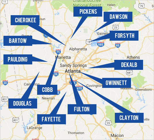 View Atlanta Real Estate By Map