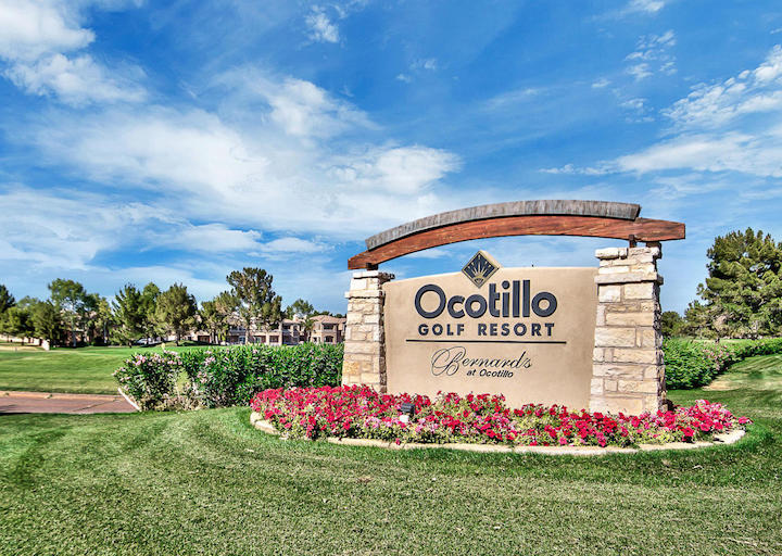 Ocotillo Sign
