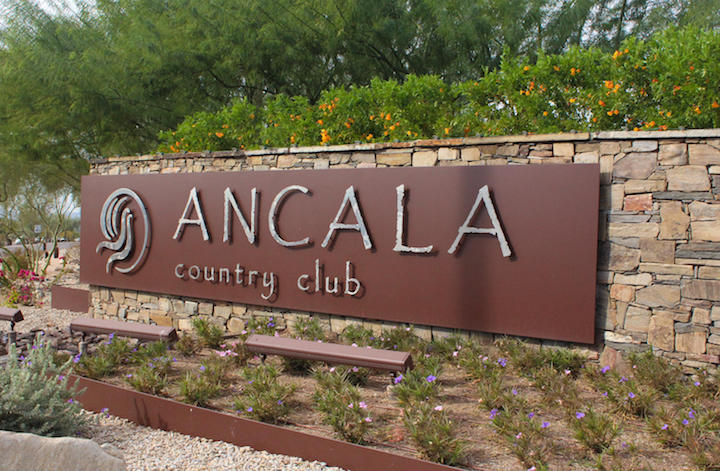 Ancala CC Sign New