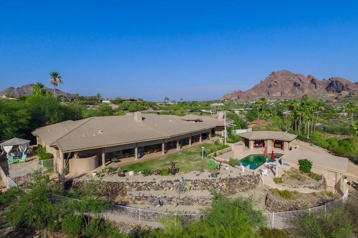 Camelback Foothills Arial