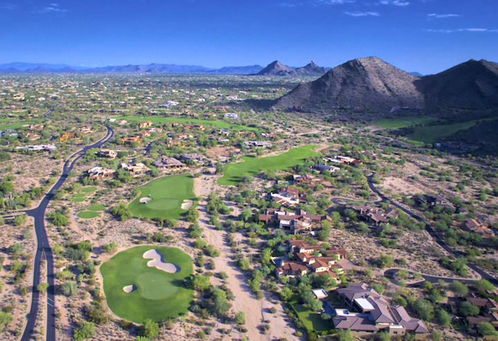DC Ranch Golf Arial