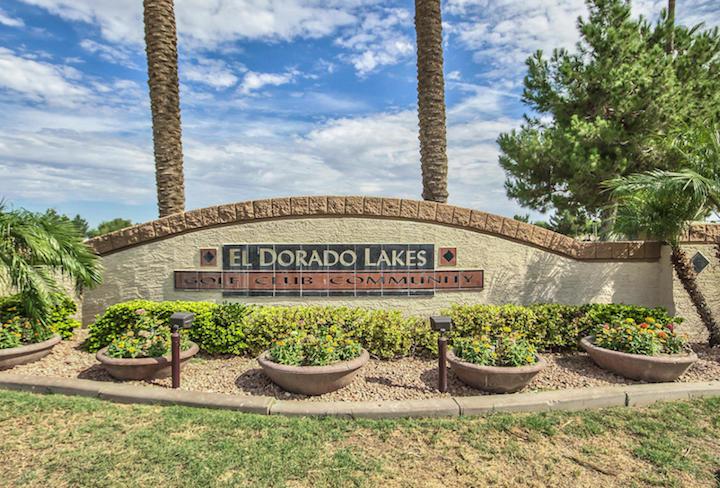 El Dorado Lakes Sign