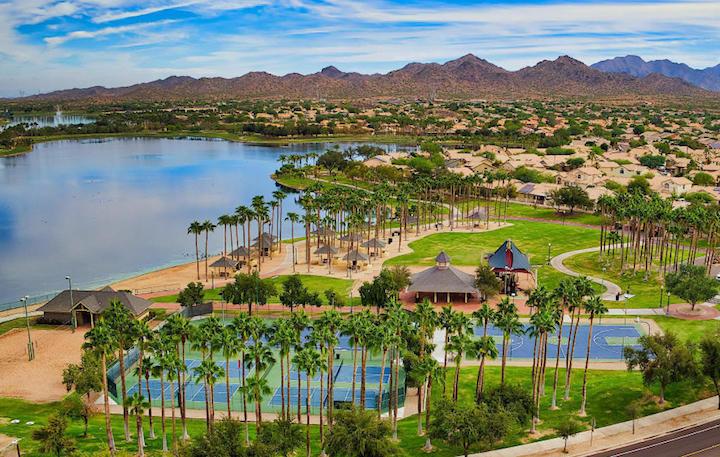 Estrella Mountain Ranch Golf Community Homes For Sale In Goodyear Arizona