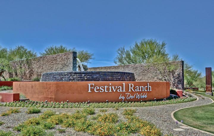Festival Foothills Sign