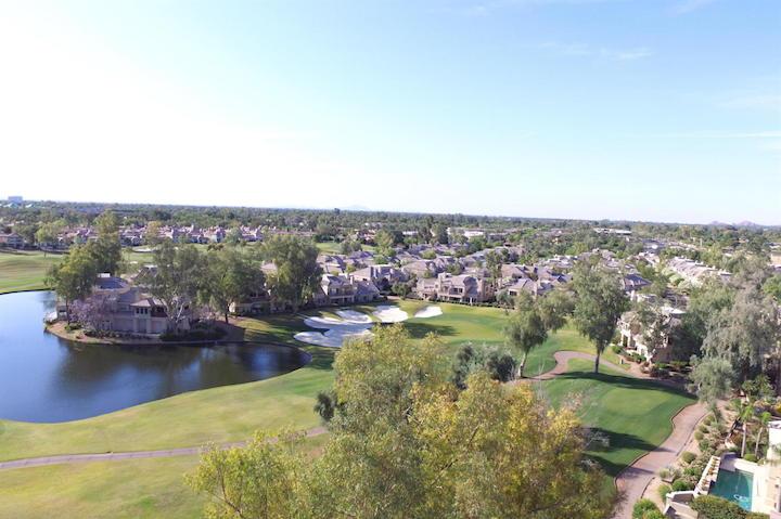 Gainey Ranch Golf Arial