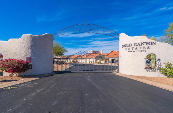 Gold Canyon Estates Sign