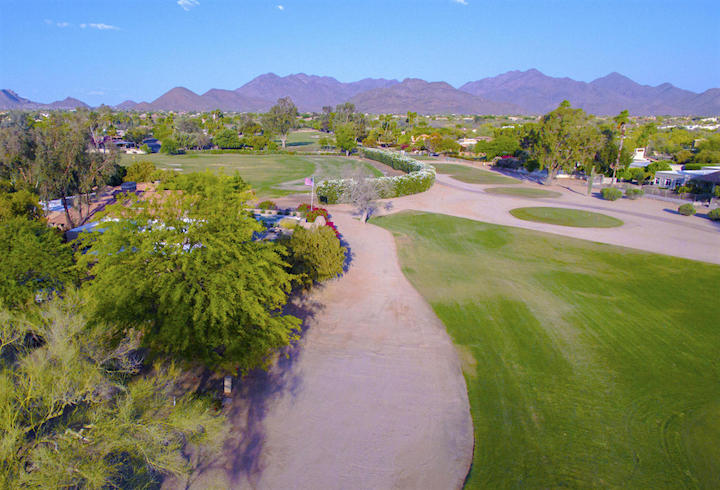 Pinnacle Peak Golf Arial