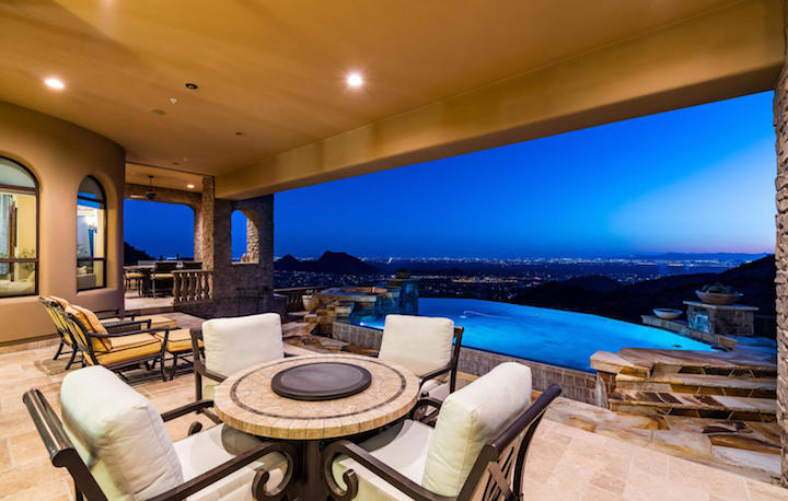 Scottsdale Mountain Pool View