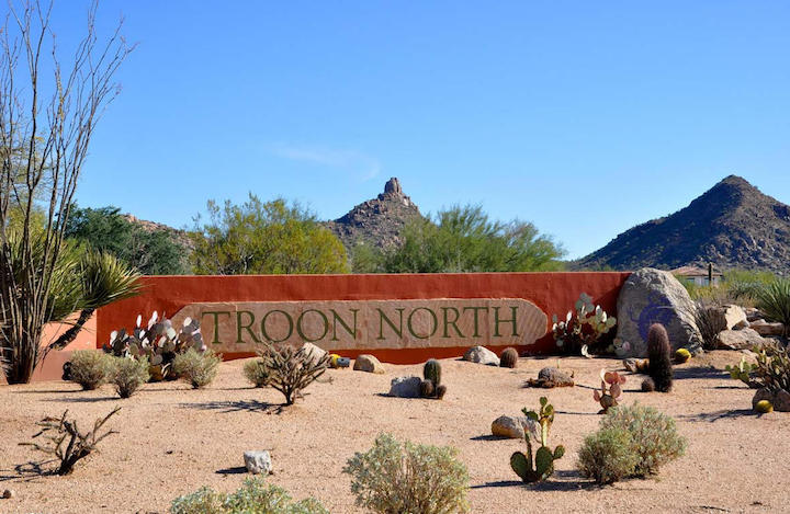 Troon North Sign
