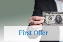 first offer