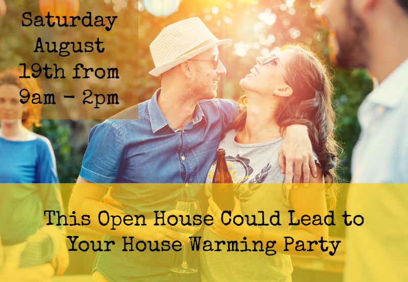 Open House August 19th