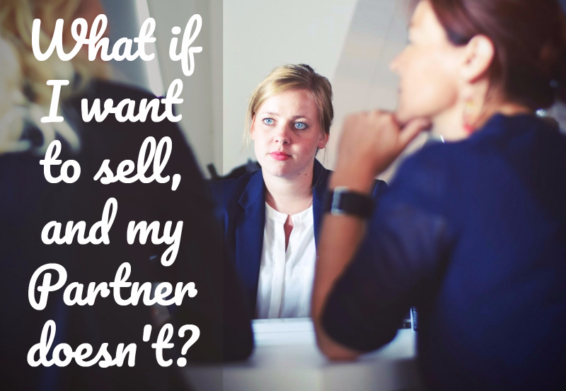 Selling your portion of a property