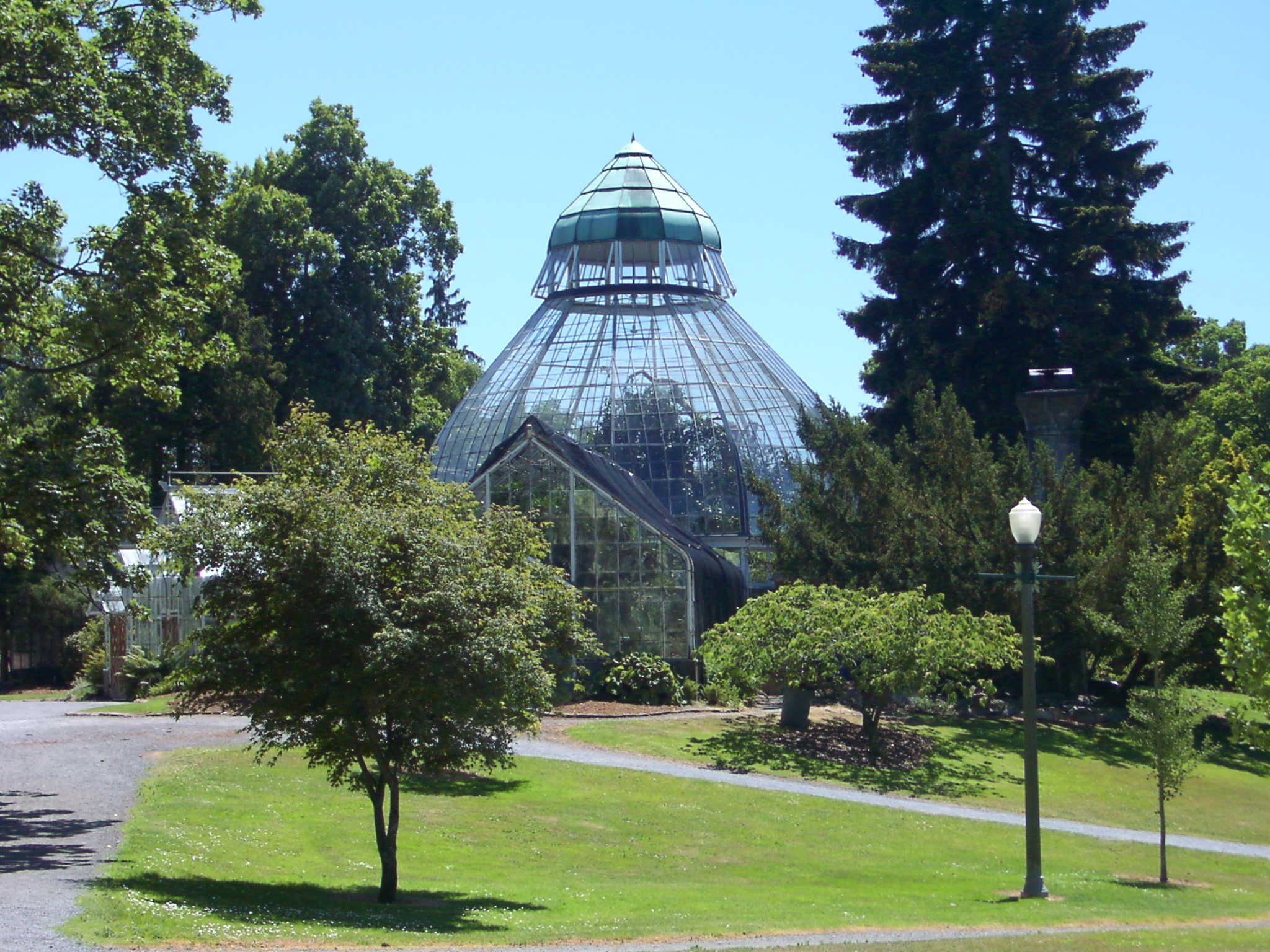 Wright Park Conservatory Tacoma WA