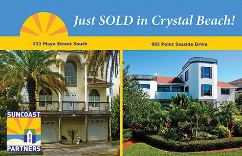 Crystal Beach Florida homes and Crystal Beach Florida Real Estate by Julia & Matt Fishel Suncoast Partners @ Keller Williams Realty Palm Harbor