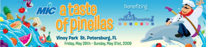 Taste of Pinellas at Vinoy Park in St Petersburg by Pinellas Realtors at Keller Williams Realty Clearwater