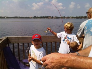 Anglers Reeling in a Big One at the 2009 Tournament