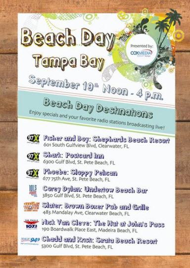 Beach Day Tampa Bay