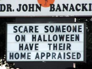 Crystal Beach Florida Realtors Spot Funny Sign