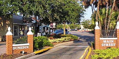 Downtown Dunedin FL