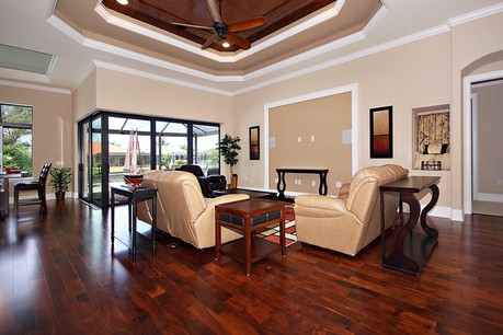 pinnacle building solutions tarpon model great room