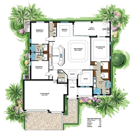 Pinnacle building solutions tarpon floorplan
