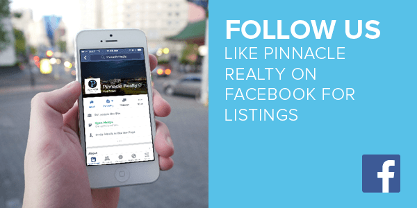 Like Pinnacle Realty on Facebook