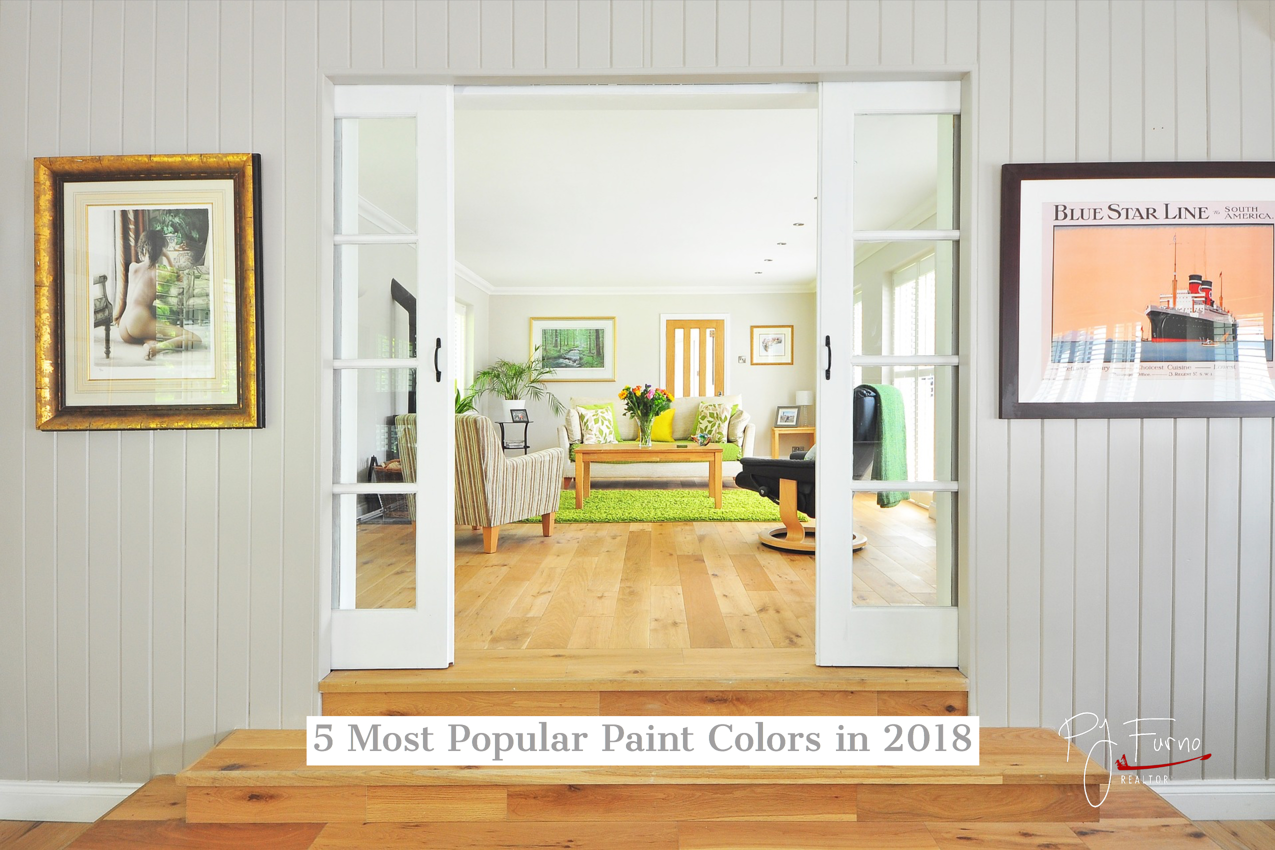 5 most popular paint colors in 2018